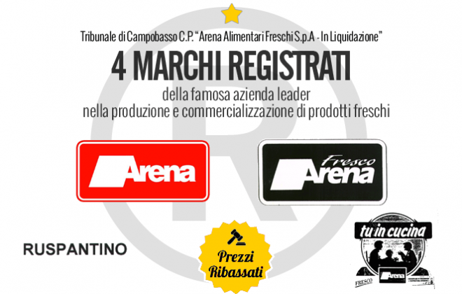 Arena freschi marchi registrati vendita n 5 - Elenco classi catastali immobili ...