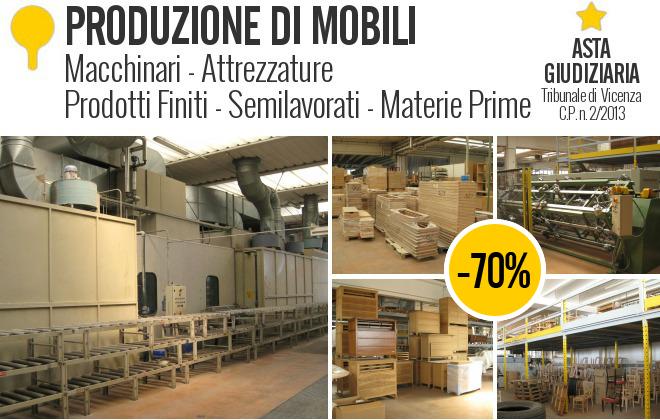 Produzione di mobili macchinari e for Produzione di mobili