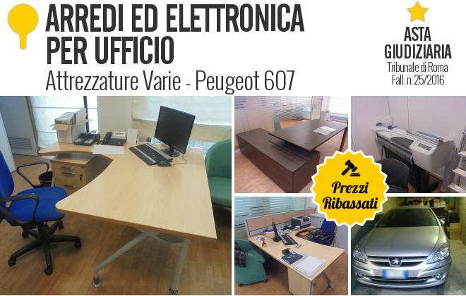 Arredi ed elettronica per ufficio fall 25 for Arredi per ufficio roma