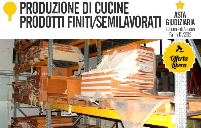 gobid.it | produzione di cucine - prodotti finiti - fl. 111/2012 ... - Aste Cucine