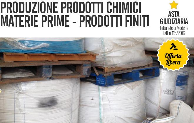 Gobid.it  Produzione Prodotti Chimici - Fall. 115/2016 - Trib. di Modena - Vendita 6  19/09/2017