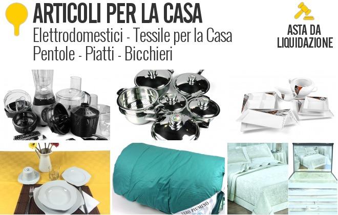 Articoli per la casa liquidazione privata - Casanova articoli per la casa ...