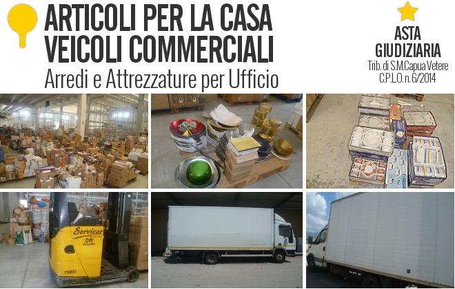 Aste industriali on line for Articoli casa