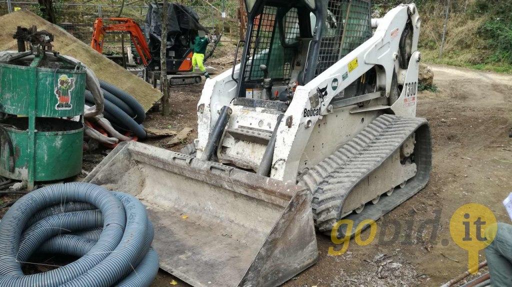 Lot Bobcat Crawler Skid Steers | Gobid it