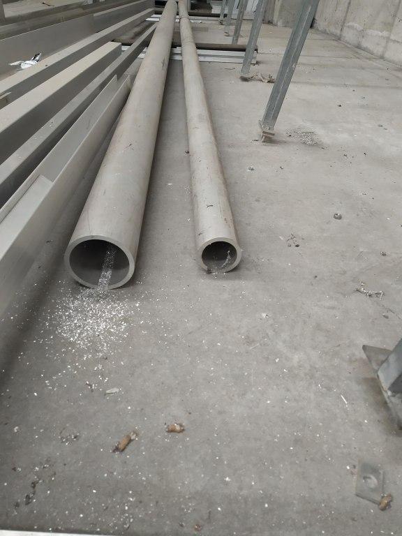 /A2 Lotto di 2/tubi Tubo Acciaio Inox 19/mm x 1,5/mm x 1/metro polimiroir acciaio inox 304/